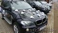 Свадебный кортеж из внедорожников BMW X5 E-70, E-53