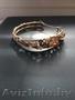 Шикарный золотой браслет ручной работы для женщины