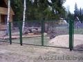 Секции заборные из сетки или металлический прутьев с  доставкой в Лиду