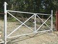 Каркас для распашных ворот в Лиде
